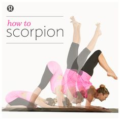 lululemon | how to scorpion