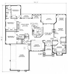 Plan HHF-6983 First Floor