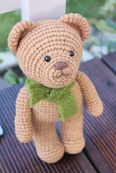 Amigurumi creations by Laura: Amigurumi Teddy Bear pdf Pattern is ready