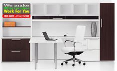 Fine office furniture systems by Cubiture will establish your business with better workflow, comfort, and style. Cubiture sells new & used office furniture Furniture Repair, Furniture Showroom, Furniture Sale, Used Office Chairs, Used Office Furniture, Office Desks, Discount Office Furniture, Discount Furniture Stores, Corporate Interiors