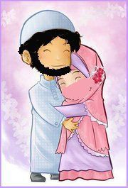 These anime hijabbi Muslim pictures are soo cute. Muslim Pictures, Islam Marriage, Islamic Cartoon, Cute Muslim Couples, Anime Muslim, Cartoon Pics, Husband Wife, Family Love, Deen