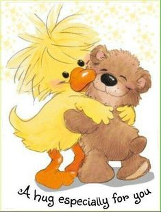 Little Suzy's Zoo bear hugs Suzy, Child Draw, Hug Quotes, Sending Hugs, Sending Prayers, Love Hug, Digi Stamps, Cute Art, Winnie The Pooh