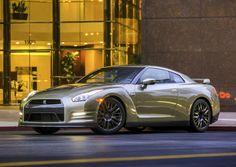 "2016 Nissan GT-R ""45th Anniversary Gold Edition"" US-spec (R35) '2015"