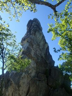 Dragon Tooth outside of Roanoke, VA!  check out our blog about the appalachian trail and beyond at tandemtrekking.com