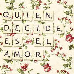 Quien decide es el amor♥ - Reik