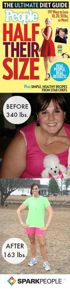 People 'Half Their Size' Issue Features SparkPeople Member's 177-Pound Weight Loss via