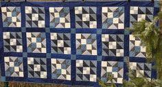 Kiltowo, czyli kultowe quiltowanie: Niebiesko - biało i tradycyjnie
