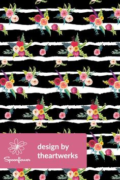 309 Best Floral Designs Images In 2019 Fabric Wallpaper Floral