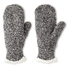 Impressions By Isotoner® Women's Mittens - Black : Target
