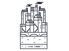 Tiny Town by Alex Collins