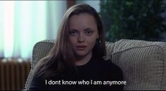 Find images and videos about christina ricci, prozac nation and elizabeth wurtzel on We Heart It - the app to get lost in what you love. Christina Ricci, Christina Aguilera, Prozac Nation, Film Quotes, Words Quotes, Sayings, Edgy Quotes, Qoutes, Film Stills