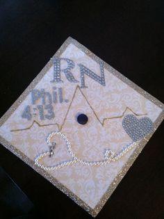 Nursing school graduation cap!