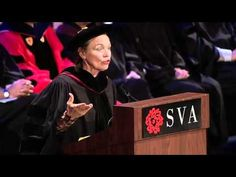 The School of Visual Arts 2012 Commencement Speaker's Address: Laurie Anderson
