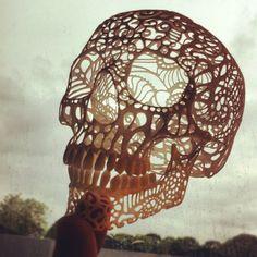 SnapWidget | #3dprinted skull