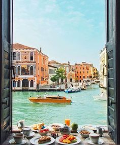Just a casual breakfast like this. That's all.  #weekendvibes #needthis #breakfastviews #breakfast #venice #billionaireone #bespoketravel #travelcompany #luxury #discoverearth #luxurytravel  #earthofficial #ourplanetdaily #landscape_lovers #naturephotography #photoarena #travelbloggers #ig_shotz #greatshotz #world_shotz  #beautifuldestinations  #startup #entrepreneur #startuplife #entrepreneurship #wanderlust #entrepreneursofinstagram #entrepreneurlife #travelgram #travelquotes photo by…