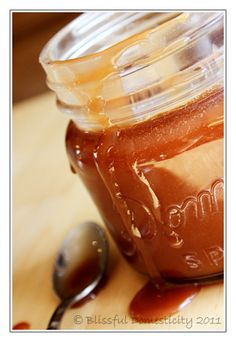 I made salted caramel sauce over the weekend and it was wonderful. I am hooked! :-D