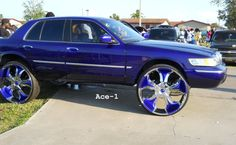 "Ace-1: Mercury Grand Marquis on 30""s"