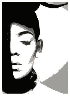 Monogram Girl Visual Artist  Alexaxandra Moxene By Len Prince Jason Paulson