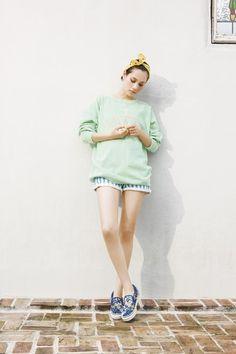 sweet mint sweater