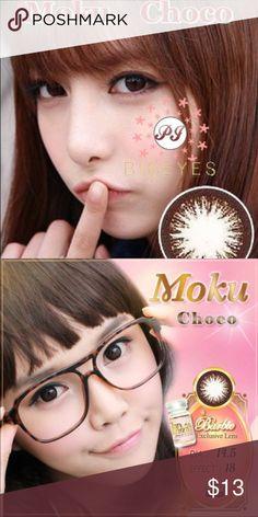 Last One!! Moku Choco Korea Contact Circle Lenses DIA 14.5 BC 8.8 Expiration: 2019 Barbie Makeup Eyeshadow
