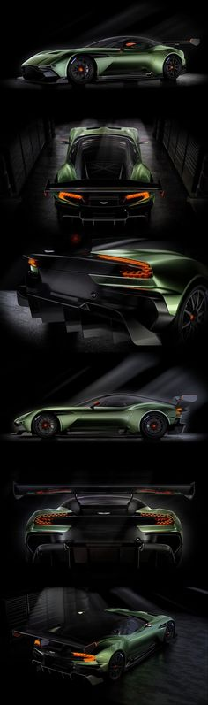 Best Sports Cars   :   Illustration   Description   Aston Martin Vulcan :: All-carbon fibre track-only #supercar (800+ bhp), limited to just 24 examples worldwide
