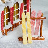 4 Clever Ways to Turn Gingerbread Cookies into a Woodland Wonderland - - A classic gingerbread house is a sweet way to warm your winter home decor. An entire woodland wonderland, however, takes the edible art concept to…. Graham Cracker Gingerbread House, Cool Gingerbread Houses, Gingerbread House Designs, Gingerbread House Parties, Gingerbread Village, Gingerbread Decorations, Christmas Gingerbread House, Gingerbread Cookies, Christmas Decorations