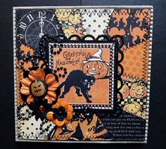 Graphic 45 Happy Haunting Greeting Card