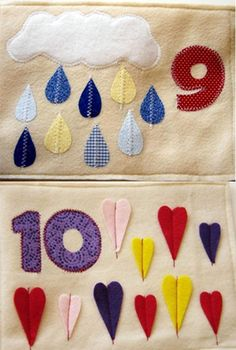Numbers Quiet Book PDF Pattern