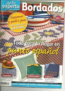✿✿Mila Artes Manuales✿✿: BORDADO ESPAÑOL PARTE SEIS Ribbon Embroidery, Embroidery Designs, Chicken Scratch Embroidery, Cross Stitch Magazines, Embroidery Techniques, Smocking, Fabric Crafts, Stitch Patterns, Books