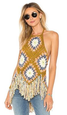 online shopping for Free People Summer Of Love Halter from top store. See new offer for Free People Summer Of Love Halter Crochet Fashion, Diy Fashion, Ideias Fashion, Womens Fashion, Fashion Outfits, Ladies Fashion, Fashion Boots, Fashion Brands, Dress Outfits
