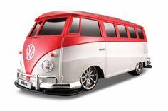 "Amazon.com : Maisto 1:10 Radio Control Volkswagen Van ""Samba"" (Colors May Vary) : Hobby Rc Cars : Toys & Games"