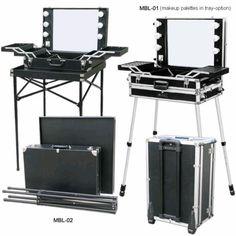 Portable Makeup Studio..Get inspired!! <3