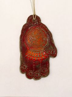 Hamsa Wall Decor hamsa wall hangings | blue hamsa evil eye charm almulet hanging or