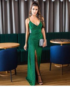 Evening Dresses, Prom Dresses, Formal Dresses, Green Dress, Fancy Dress, Beautiful Dresses, Gowns, Style Inspiration, Outfits