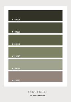 olive green bedroom, green color scheme, olive green color scheme, shades of green color palette, green color palette Olive Green Rooms, Olive Green Decor, Olive Green Paints, Olive Green Kitchen, Green Bedroom Colors, Bedroom Wall Colors, Bedroom Color Schemes, Olive Bedroom, Green Color Schemes