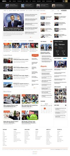 NEWS - Joomla Magazine Template