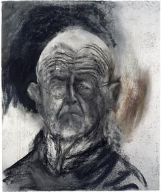 Jim Dine, Faded Eyes in My Head, 2009 Charcoal and pastel 40 x 48 inches 101.6 x 121.9 cm