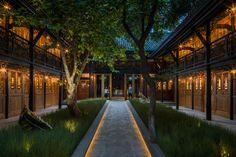 Garden Entrance to Temple House Hotel in Chengdu, China | Photo: Dominic Lutyens | | { Landscape 2