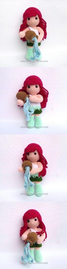 Aquarius Amigurumi Pattern Simply Crochet, Free Crochet, Knit Crochet, Crochet Hats, Amigurumi Doll, Amigurumi Patterns, Crochet Patterns, Adult Crafts, Learn To Crochet