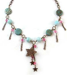 Tutorials | Gypsy Star Necklace | Handmade Fashion Jewellery – Devoted to DIY Jewellery