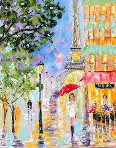 """Paris Cityscape"" by Karen Tarlton"