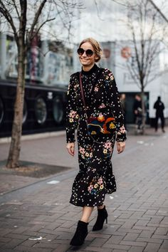 The Best Street Style At London Fashion Week AW18- ellemag