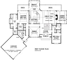 images about Don Gardner Home Plans on Pinterest   House    The Adelaide House Plan  similar to the best plan ever yet needs separate mud room