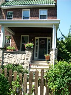 Baltimore row home in Remington