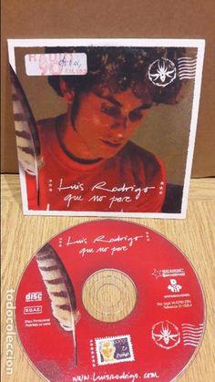 LUIS RODRIGO. QUE NO PARE. CD SINGLE-PROMO / BUENA CALIDAD / ENVÍO INCLUIDO.