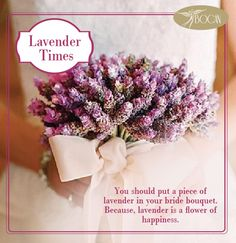 We have some suggestions for bridal flowers. Lavender, all the good feelings that keeps inspiring and vibrant flowers. Prepared with lavender bridal bouquet, your happiness carries a completely different dimension. Moreover, very befitting a bride lavender.