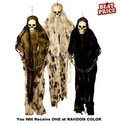 1.8m Animated Lights Sound Motion Death Row Halloween Party Decoration Prop