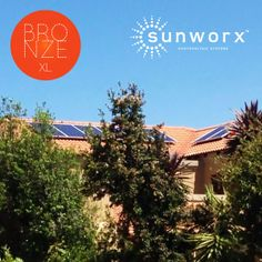 SUNWORX out in Silver Lakes. Our happy clients have a new Bronze XL package supporting their homes ESSENTIAL NEEDS @ 2448 kWh p.a.   Now is the time to go solar! Solar PV production has been doubling every two years since 2008, and its efficiency is rising as rapidly.  Spot the benefits! • Sunshine is abundant and a constantly renewable resource. • Solar power generates zero pollution during usage. • The most electricity produced by PV's is during hours of peak demand.