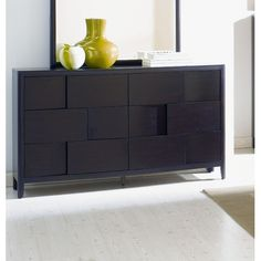Magnussen Nova 4 Piece Platform Bedroom Set in Chestnut | Wayfair