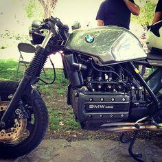 Cafe Racer Bikes, Cafe Racers, Custom Motorcycles, Custom Bikes, Bobber, K100 Scrambler, K100 Bmw, Motorcycle Shop, Hot Bikes